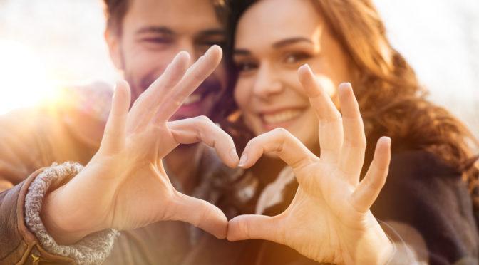 Verliebtheit gegen Stress